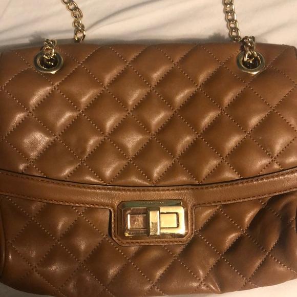 MICHAEL Michael Kors Handbags - BROWN LEATHER MICHAEL KORS QUILTED CROSSBODY BAG